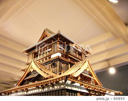 熊本城のミニチュア