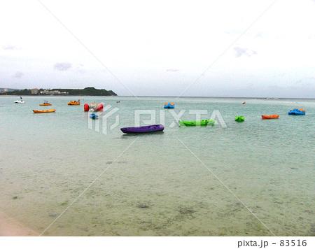 グアムの浜辺