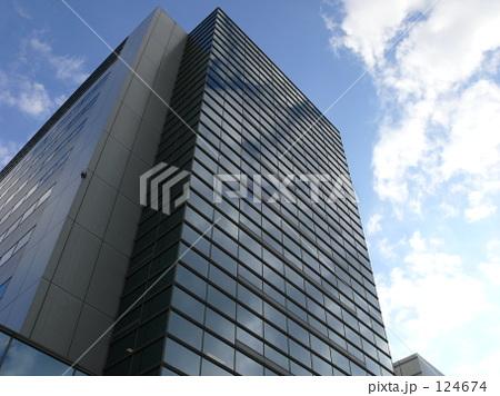 ビジネスビルの写真素材