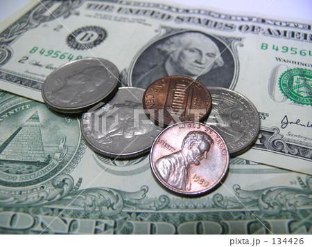 $(ドル)の写真素材