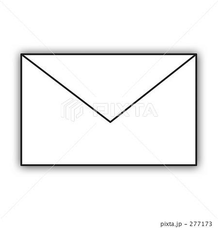 277173 メール 携帯メール メールアイコンのイラスト 画質確認    メール 携帯メール