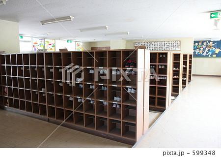 学校の下駄箱 599348  学校の下駄箱 画質確認    学校の下駄箱の写真素材 [59934