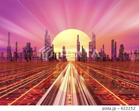 插图: 未来都市