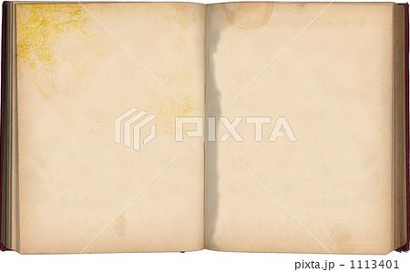 古い本 1113401  古い本 画質確認    古い本の写真素材 [1113401]