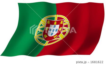 ポルトガルの国旗のイラスト ... : ヨーロッパ 国旗 一覧 : すべての講義