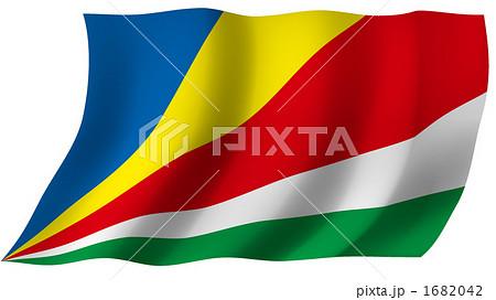 セーシェルの国旗 1682042  セーシェルの国旗 画質確認   セーシェルの国旗のイラスト素