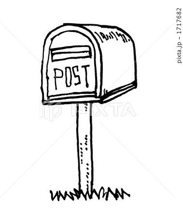 邮筒手绘简笔画