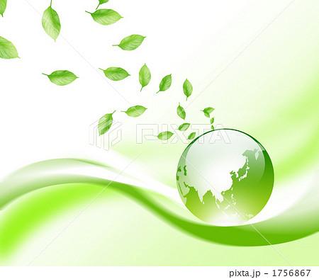 イラスト素材: エコロジー