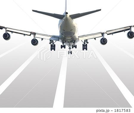 イラスト素材: 着陸