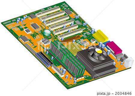マザーボード 2034846 マザーボードのイラスト素材 [2034846] - PIXTA