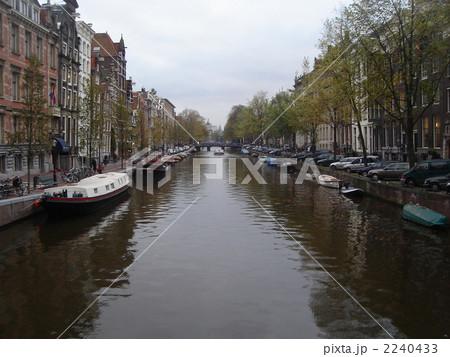 アムステルダムの運河の画像 p1_13