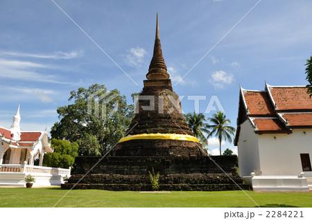 写真素材:スコータイ 仏塔