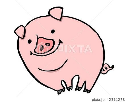 豚の画像 p1_11