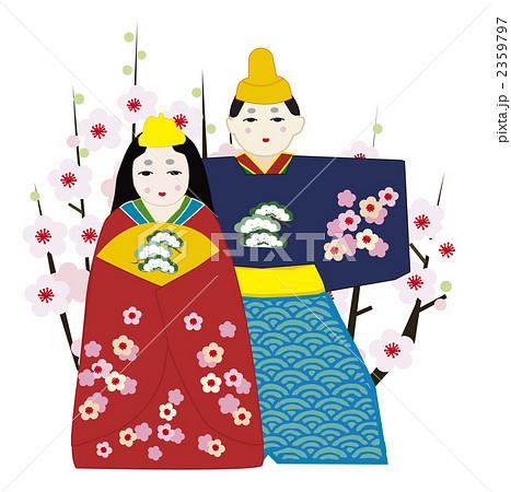 雛祭りと桃の花