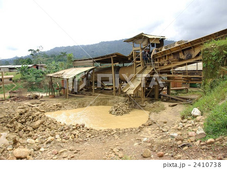 ガーナの金採掘場 2410738 ガーナの金採掘場の写真素材 [2410738] - PIXTA