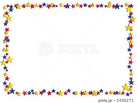 ☆枠 2430271 ☆枠のイラスト素材 [2430271] - PIXTA