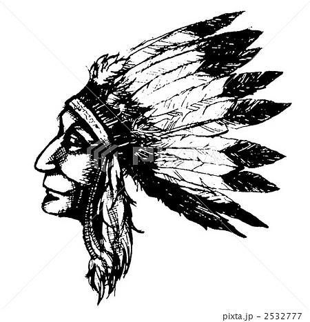 インディアン 2532777 インディアンのイラスト素材 [2532777] - PIXTA