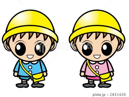 幼稚園児 2831420  幼稚園児 画質確認   幼稚園児のイラスト素材 [2831420]
