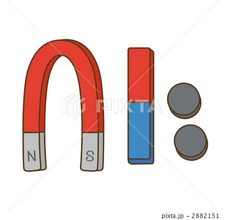 磁石 2882151  磁石  磁石のイラスト素材 [2882151]