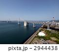 瀬戸大橋記念公園と瀬戸大橋 の写真素材