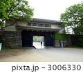 大阪城の青屋門 の写真素材