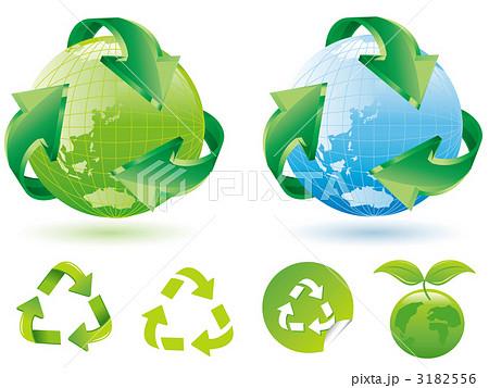 地球 リサイクル マーク 3182556 地球 リサイクル マーク 地球 リサイクル マークのイ