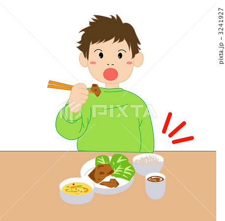 イラスト素材: 行儀悪い子供5
