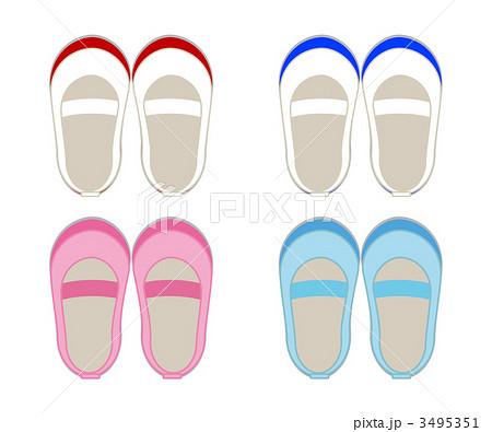 上靴 3495351  上靴    上靴のイラスト素材 [3495351]