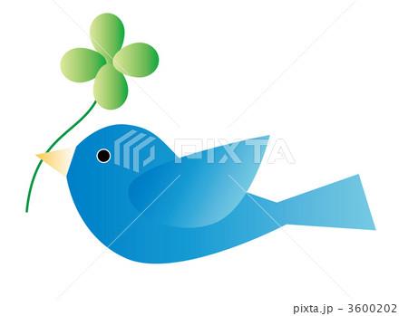 青い鳥 3600202  青い鳥 画質確認    青い鳥のイラスト素材 [3600202]