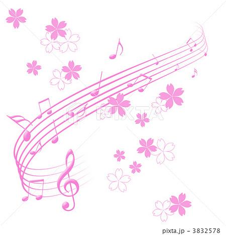 春の音楽 3832578 春の音楽のイラスト素材 [3832578] - PIXTA