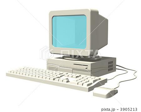 古いパソコン 3905213  古いパソコン  サムネイル表示に戻す 画質を確認 古いパソコンの