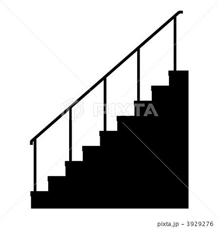 3929276 上り階段 階段 昇降階段のイラスト素材 [3929276] - PIXTA