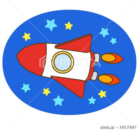 ロケット 3957897 ロケットのイラスト素材 [3957897] - PIXTA
