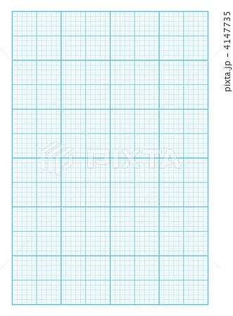鉛筆と方眼紙 Drawing Instrument On Graph Paper マイホーム D