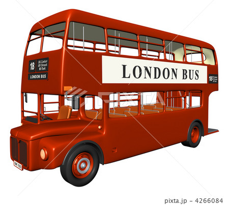 ロンドンバス(左サイド前方) 4266084  ロンドンバス(左サイド前方) 画質確認   ロン