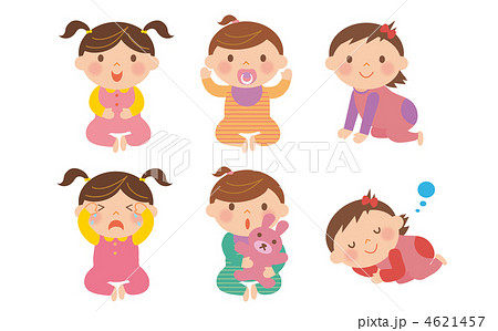 幼児 4621457 幼児のイラスト素材 [4621457] - PIXTA