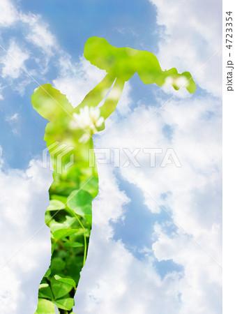 高い高い 希望~未来 4723354 高い高い 希望~未来のイラスト素材 [4723354] -