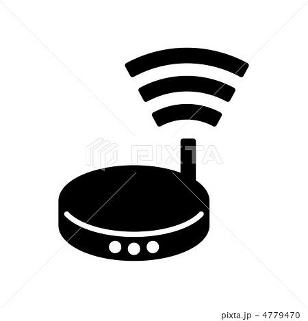 無線ルーター 4779470 無線ルーターのイラスト素材 [4779470] - PIXTA