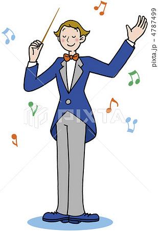 生活 音楽 指揮者 4787499 生活 音楽 指揮者のイラスト素材 [4787499] - P