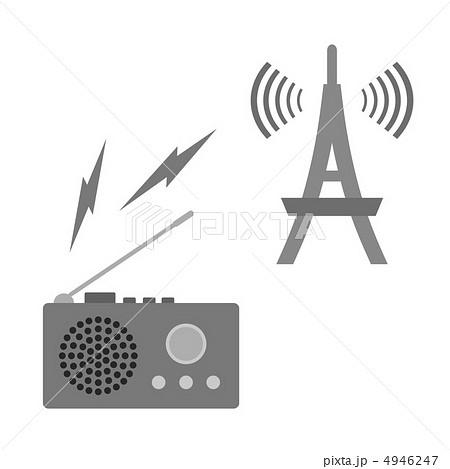 ラジオ受信 4946247 ラジオ受信のイラスト素材 [4946247] - PIXTA