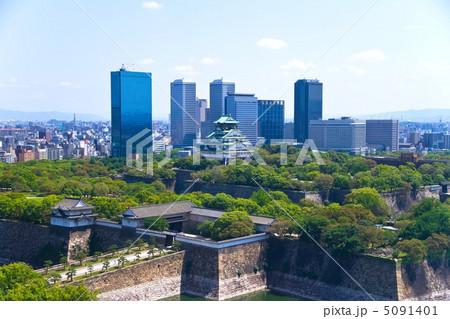 城堡 大阪城 城墙-图片素材
