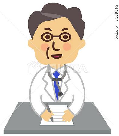 処方箋を書く医者 5109665  処方箋を書く医者 画質確認   処方箋を書く医者のイラスト素