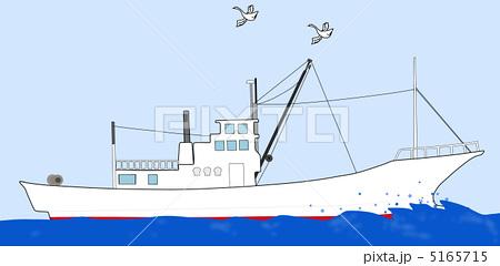漁船 5165715 漁船のイラスト素材 [5165715] - PIXTA