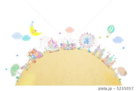 童話の町1401709 5235057 イラスト素材: 童話の町1401709 童話の町1401