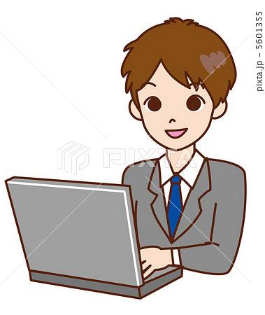 男性 / パソコン / 仕事 / ビジネスマン 5601355  男性 / パソコン / 仕事