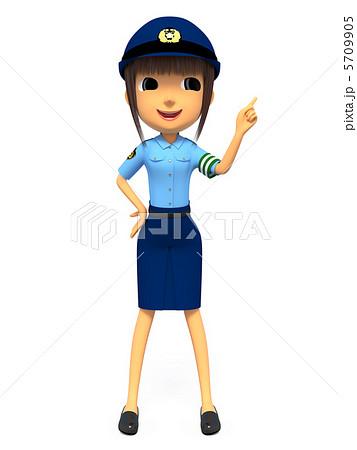 女性警察官 5709905 女性警察官のイラスト素材 [5709905] - PIXTA