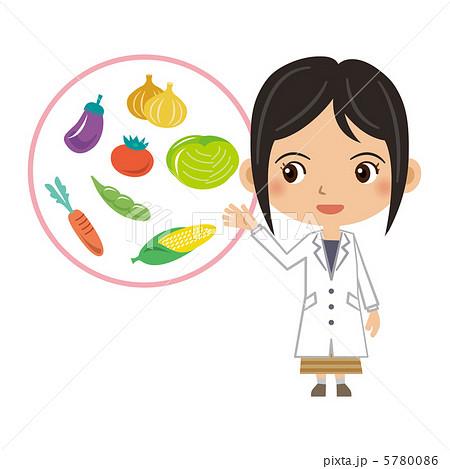 栄養士のイラスト素材              1ページ目