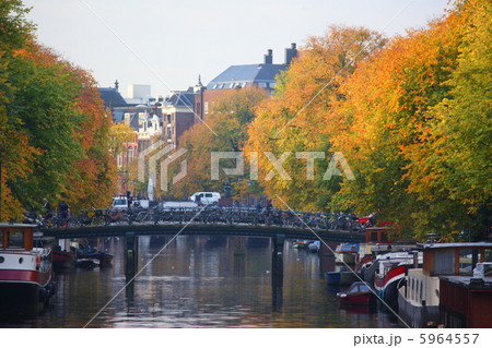 アムステルダムの運河の画像 p1_22