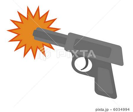 発砲 6034994  発砲 画質確認    発砲のイラスト素材 [6034994]