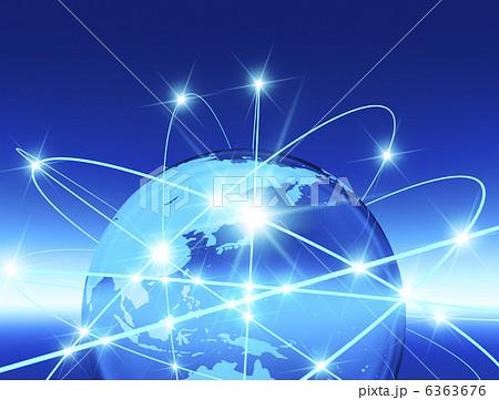 地球 ネットワーク 6363676 地球 ネットワークのイラスト素材 [6363676] - P